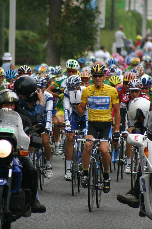 Lance Armstrong stock fotografie