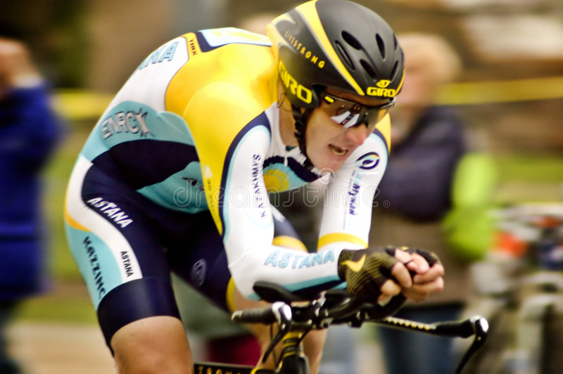 Lance Armstrong foto de stock royalty free