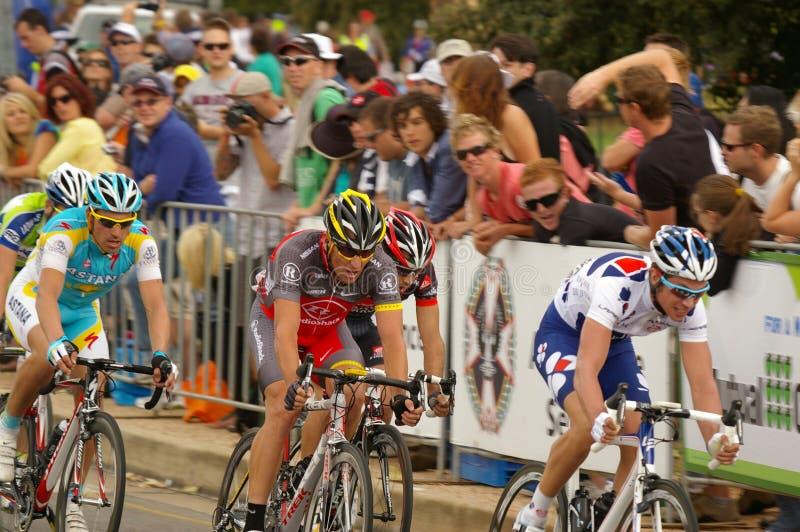 Lance Armstrong in de Reis neer onder 2010 royalty-vrije stock afbeeldingen