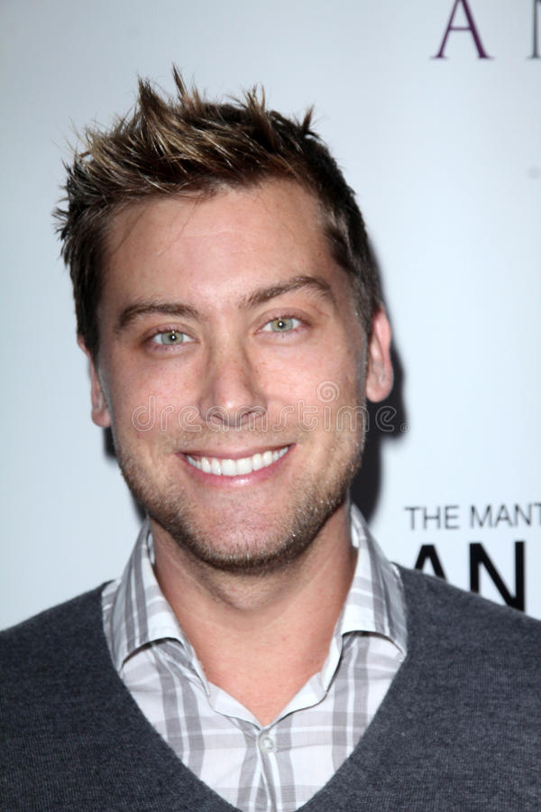 Download Lance Bass, editorial stock image. Image of lance, west - 25257599