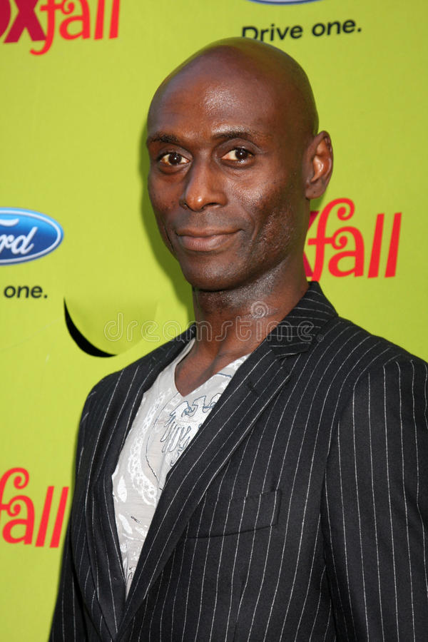 Lance Reddick. Arriving at the FOX-Fall Eco-Casino Party at BOA Steakhouse in West Los Angeles, CA on September 14, 2009 royalty free stock photo
