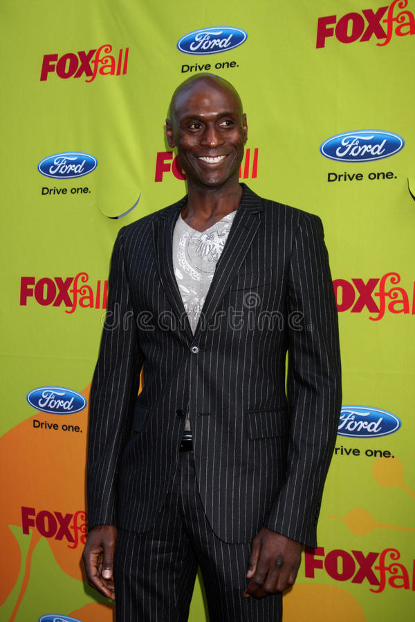 Lance Reddick. Arriving at the FOX-Fall Eco-Casino Party at BOA Steakhouse in West Los Angeles, CA on September 14, 2009 stock images