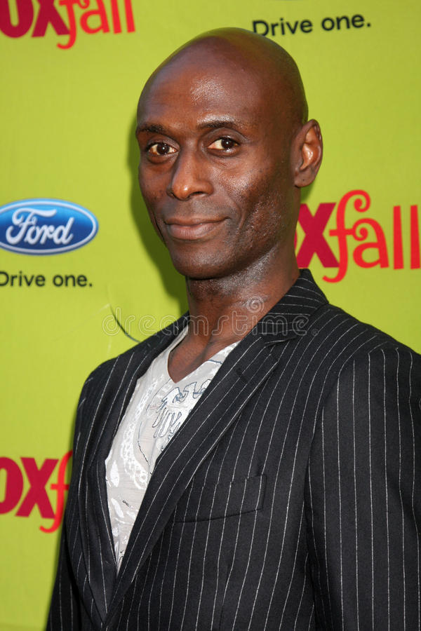 Lance Reddick. Arriving at the FOX-Fall Eco-Casino Party at BOA Steakhouse in West Los Angeles, CA on September 14, 2009 stock photography