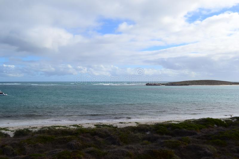 Lancelin Beach Australien arkivbild