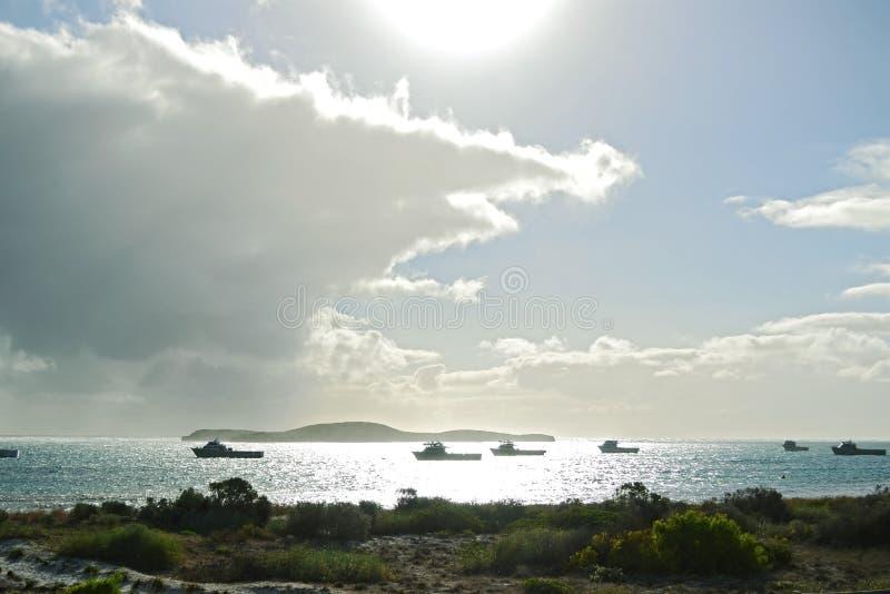 Lancelin Beach Australien royaltyfri bild
