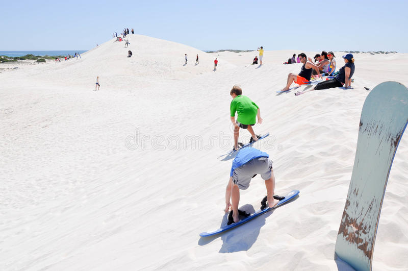Lancelin Dunes: Balancing Acts royalty free stock photo