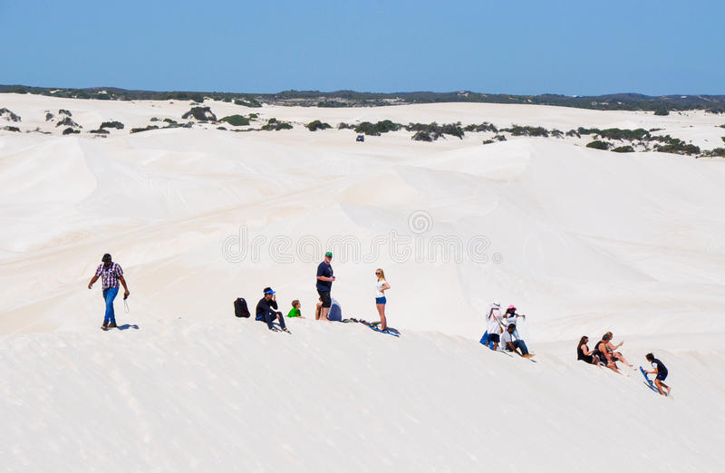 Lancelin Dunes: Recreation royalty free stock image