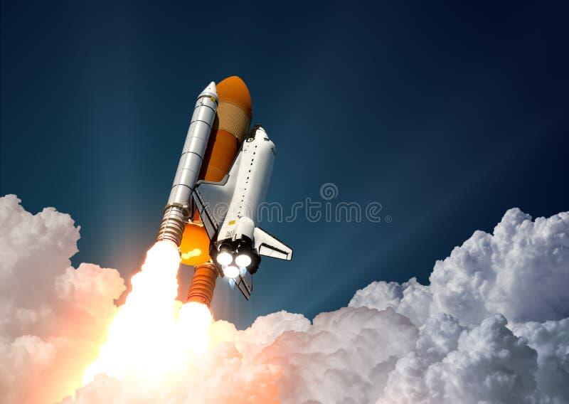Lancement de navette spatiale