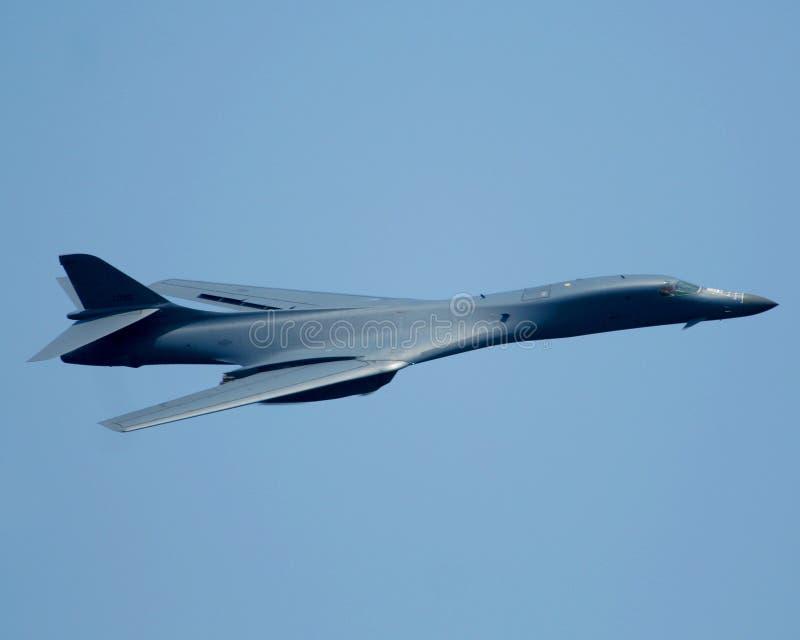 lancer бомбардировщика 1B b стоковые изображения rf
