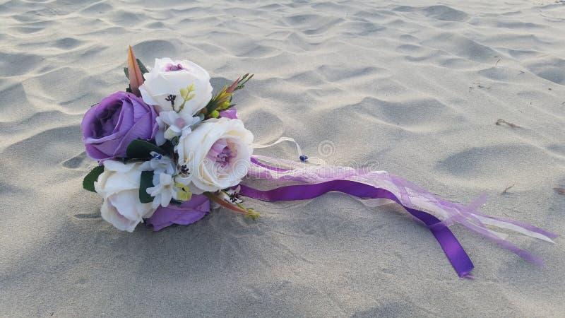 Lancer de bouquet photo stock