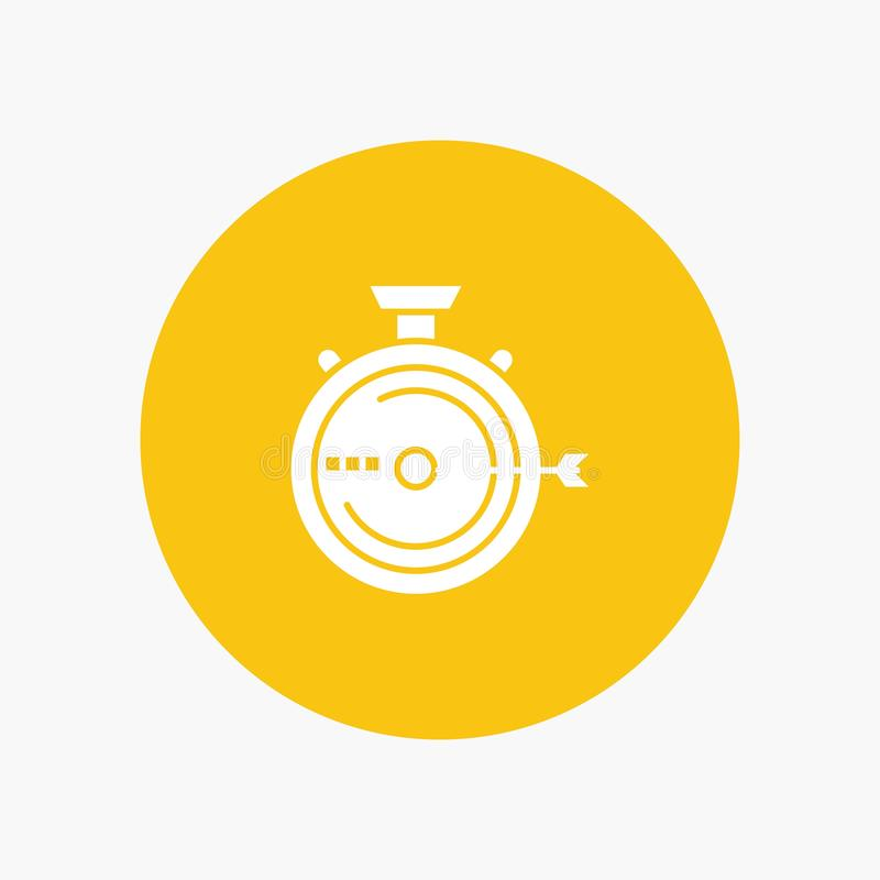 Lancering, Beheer, Optimalisering, Versie, Chronometer vector illustratie