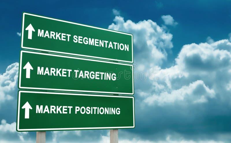 Lancez la stratégie sur le marché photographie stock