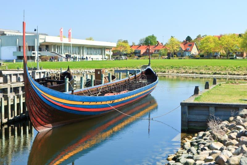 Lancha de Vikingo imagen de archivo libre de regalías