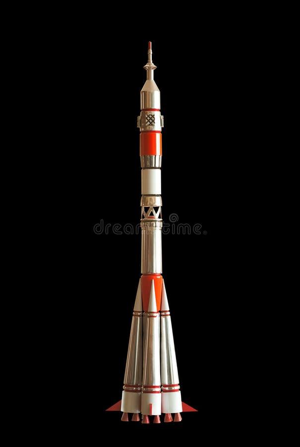 Lancher di Soyuz del missile balistico di Intercontinetal immagini stock