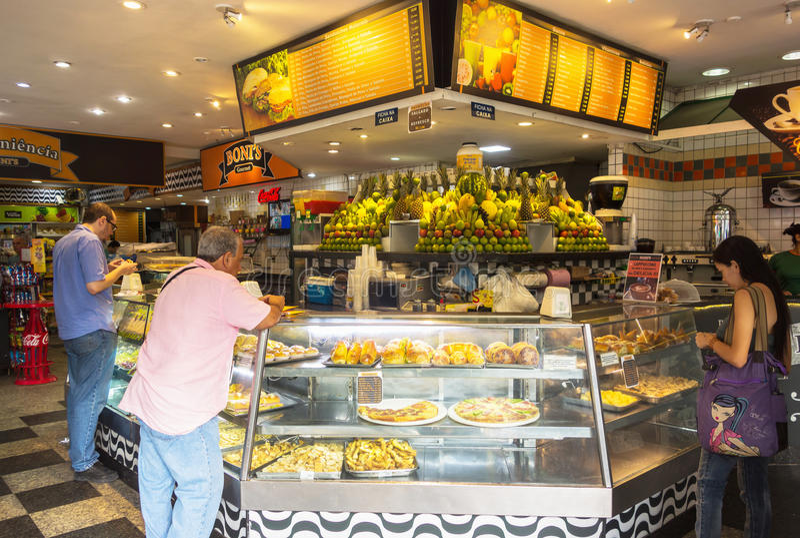 lanchonete snack bar in copacabana de janeiro