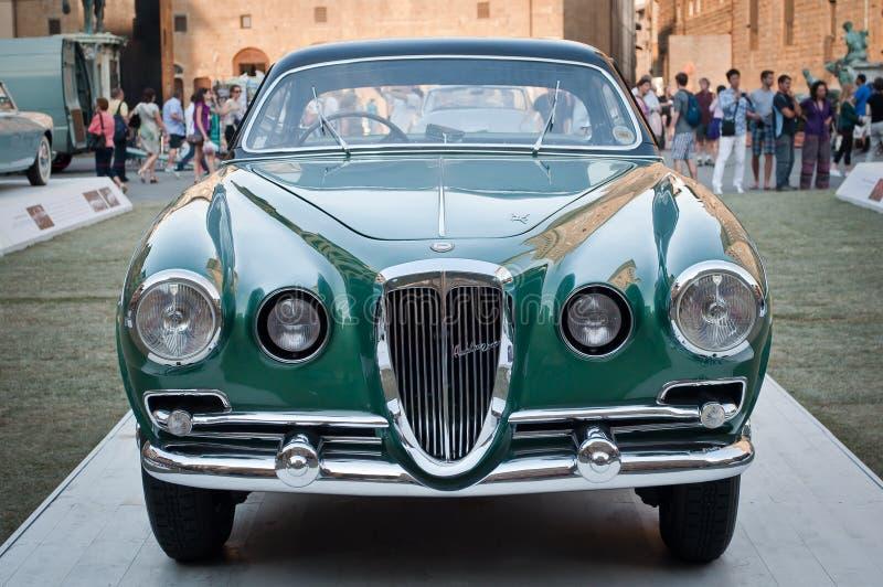 Lancia Aurelia 1953 arkivfoto