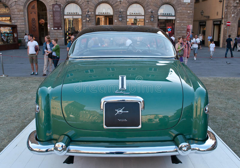 Lancia Aurelia 1953 royaltyfri fotografi