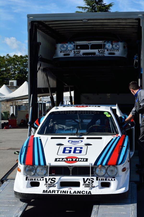 Lancia Beta Montecarlo Turbo foto de archivo libre de regalías