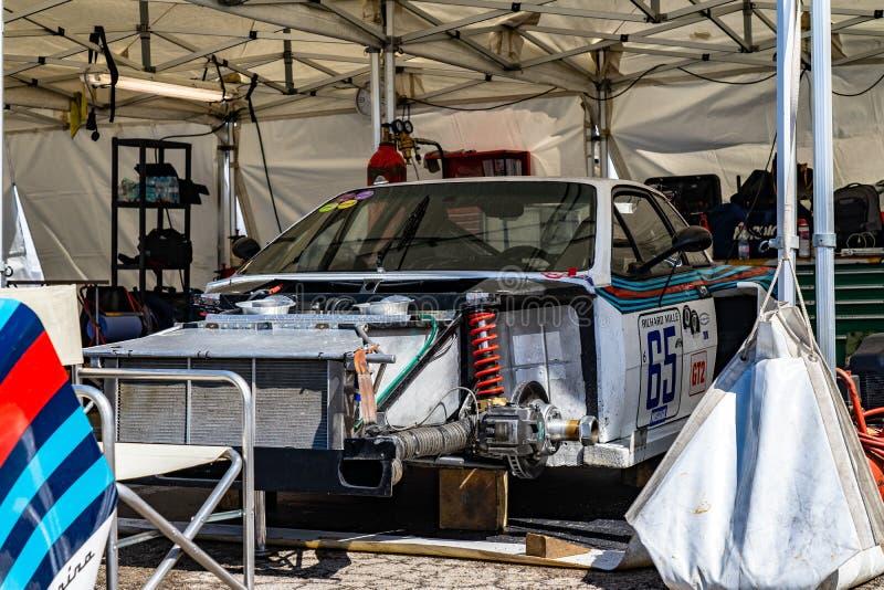 Lancia Beta Montecarlo Turbo In Montjuic Spirit Barcelona