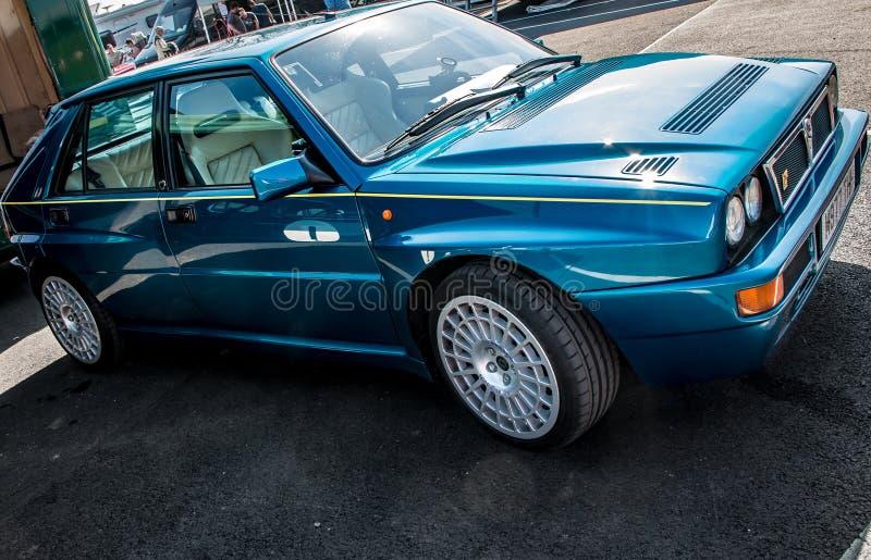 Lancia delta Integrale royaltyfri foto