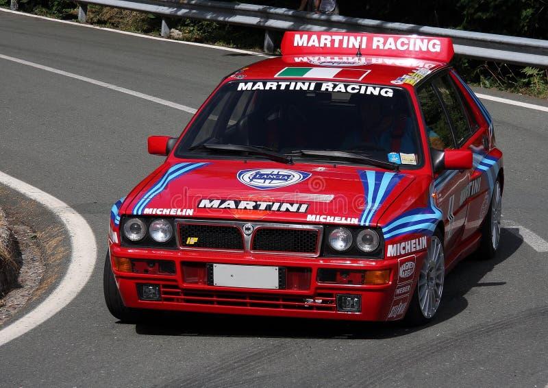 Lancia delta Integrale fotografering för bildbyråer