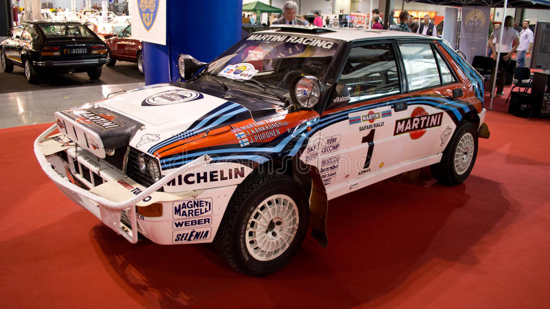 Lancia Delta Integrale Milano Autoclassica 2014 royalty free stock photos
