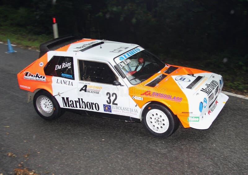 Lancia delta S4 arkivbild