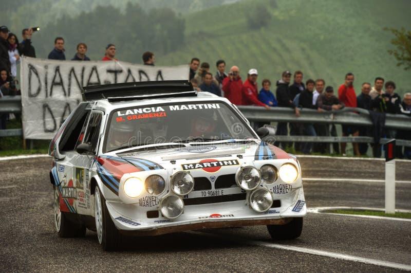 Download Lancia delta S4 Martini redaktionell arkivfoto. Bild av maxi - 27285748