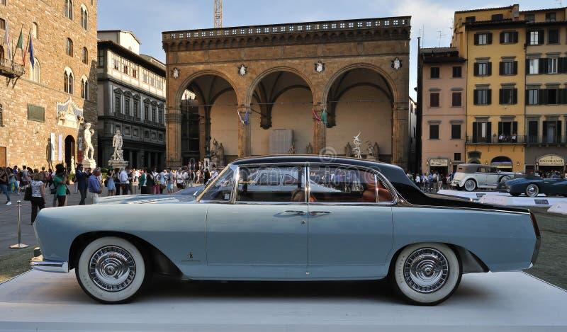 Lancia Florida 1955 royaltyfri bild