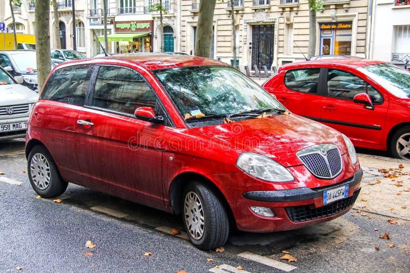 Lancia Ypsilon royalty-vrije stock afbeelding