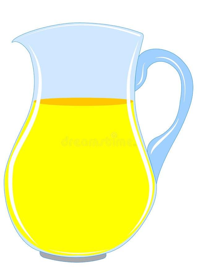 Lanciatore con la bevanda royalty illustrazione gratis