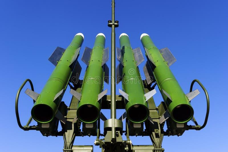 Lanciatore del missile balistico immagini stock