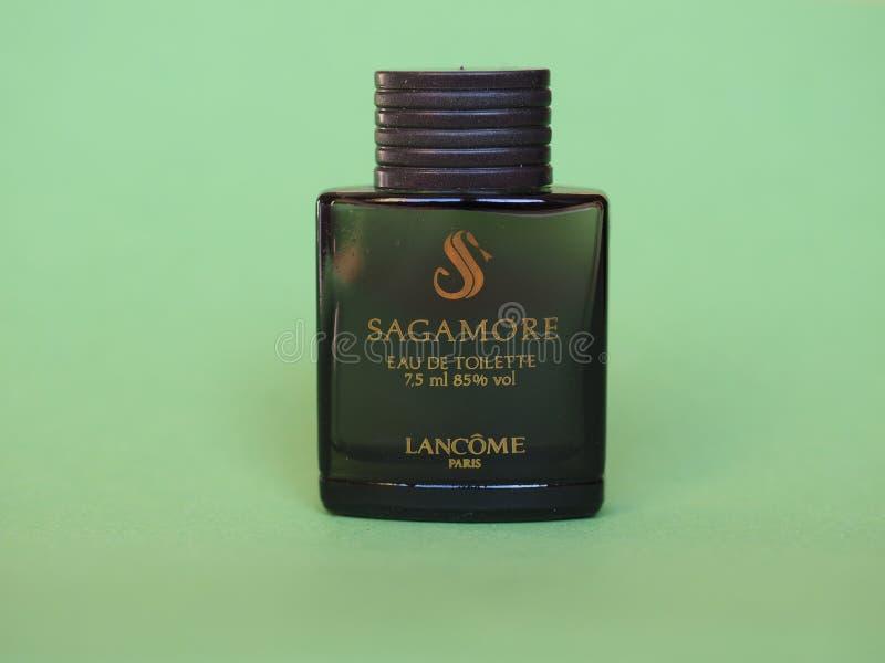 Lancome Sagamore eau de toilette images stock