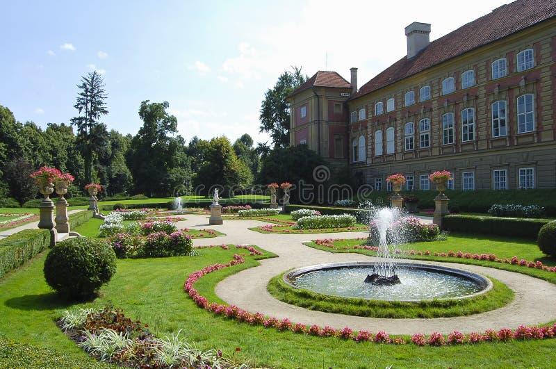 Lancut Castle - Poland royalty free stock photo