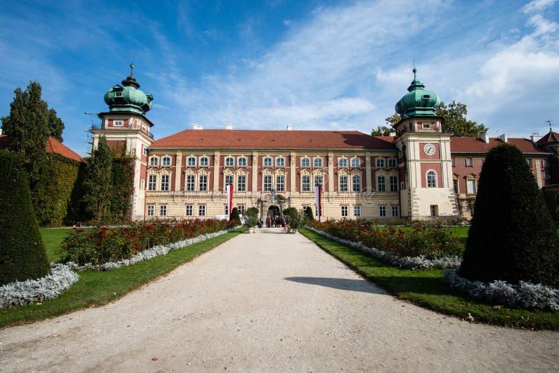 Lancut kasztel siedziba Pilecki, Lubomirski i Potocki rodziny, zdjęcie royalty free