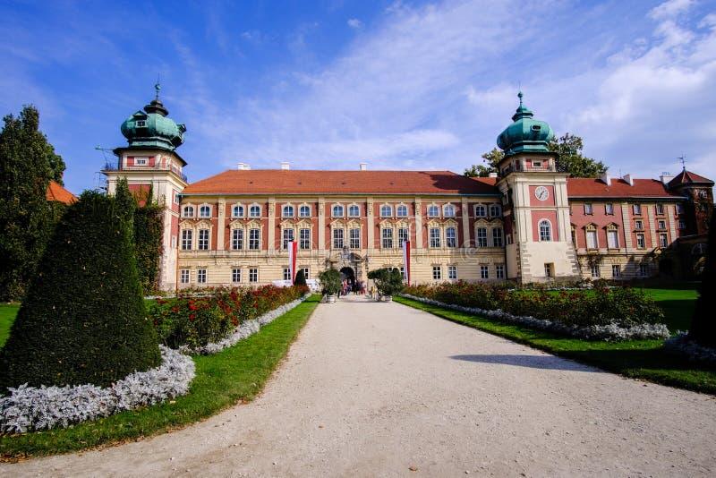 Lancut kasztel siedziba Pilecki, Lubomirski i Potocki rodziny, obrazy royalty free