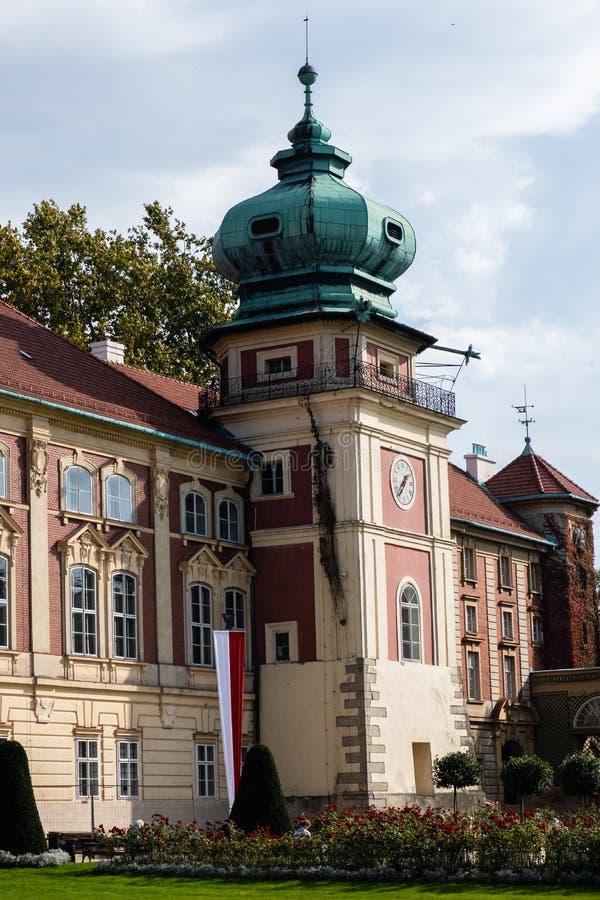 Lancut kasztel siedziba Pilecki, Lubomirski i Potocki rodziny, obrazy stock