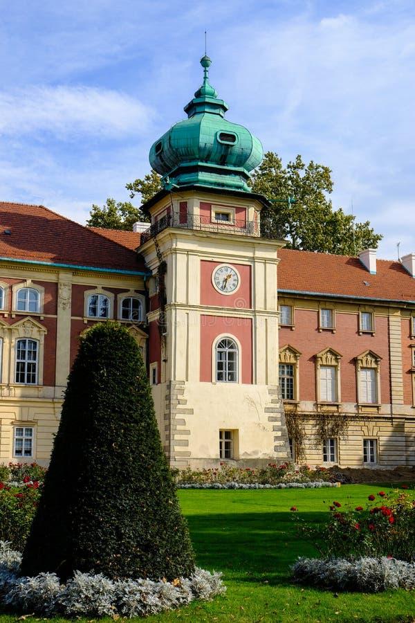 Lancut kasztel siedziba Pilecki, Lubomirski i Potocki rodziny, fotografia royalty free