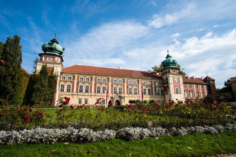 Lancut kasztel siedziba Pilecki, Lubomirski i Potocki rodziny, zdjęcia royalty free