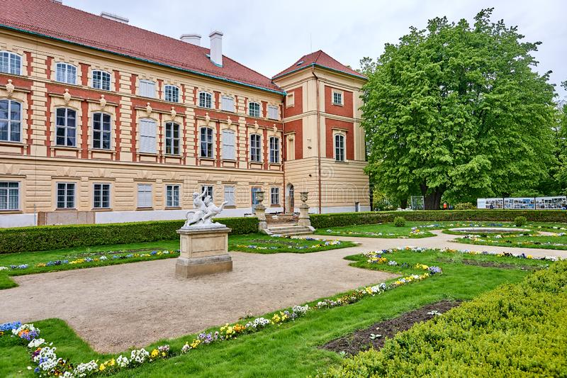 LANCUT, POLAND - MAY 4, 2019: Castle - historically the residenc royalty free stock photos