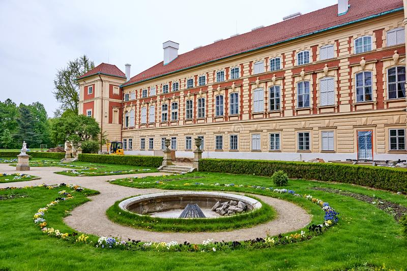 LANCUT, POLAND - MAY 4, 2019: Castle - historically the residenc stock images