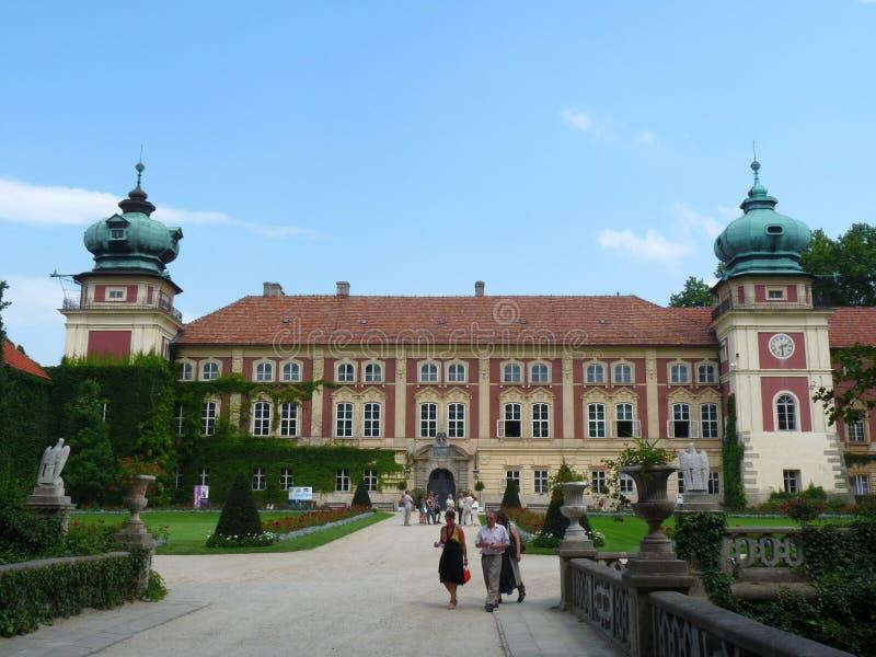 Lancut slott royaltyfri bild