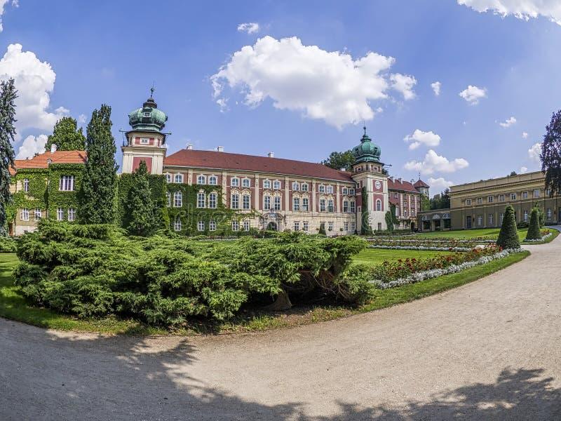 Lancut slott arkivfoto