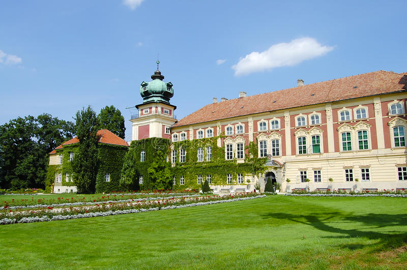 Lancut slott - Polen royaltyfri foto