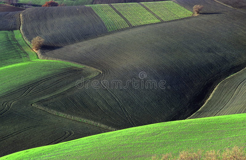 Land abstract stock image