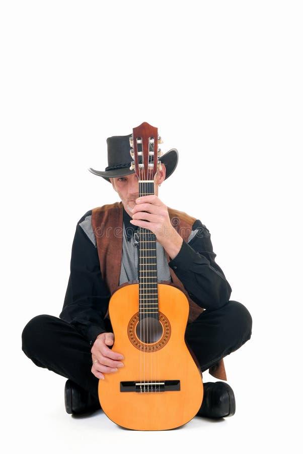 Land & Westelijke zanger royalty-vrije stock foto