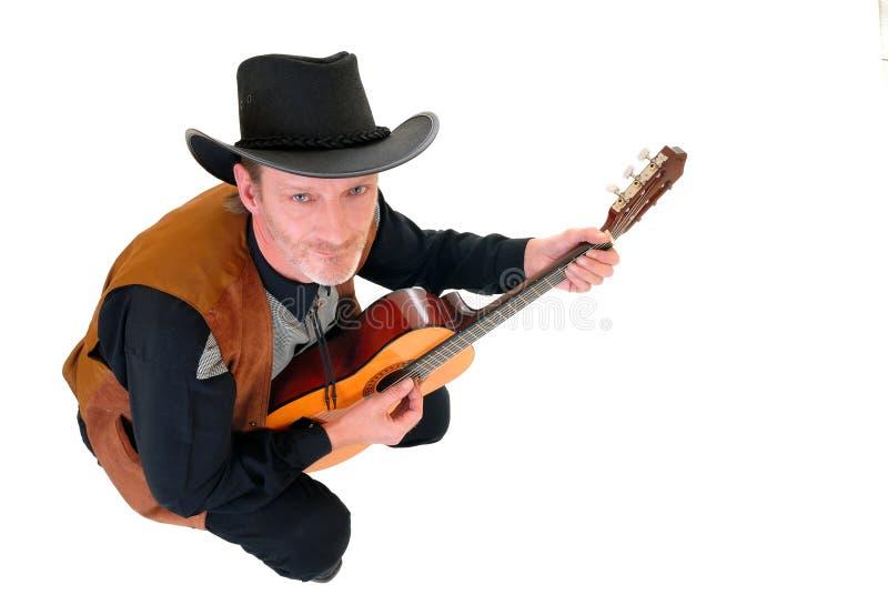 Land & Westelijke zanger royalty-vrije stock afbeeldingen
