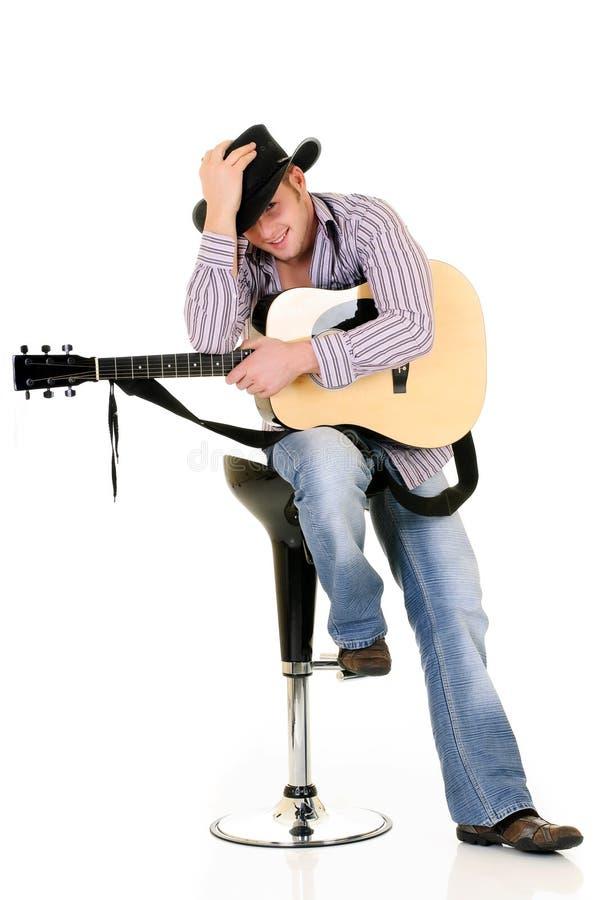 Land & Westelijke zanger royalty-vrije stock fotografie
