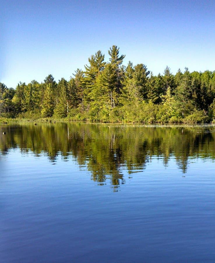 Land av sjöarna royaltyfri bild