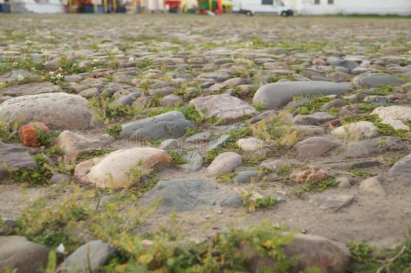 Land av stenar royaltyfri bild